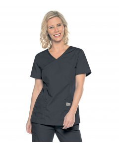 Landau 70228: Womens Scrubzone Modern Fit Surplice Top