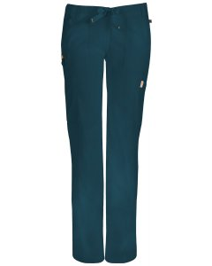 Code Happy 46000AT: Womens 46000a Low Rise Straight Leg Drawstring Pant