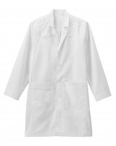 "Meta 1199: Mens 38"" Twill Trench Style Labcoat"