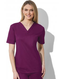 Cherokee Workwear 34777A: Unisex Cherokee Work Wear V-Neck Top