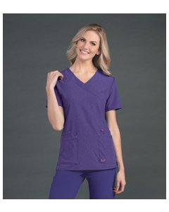 Smitten S101033: Womens Glam - Surplice Tunic Top