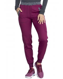 Dickies DK185: Womens Natural Rise Tapered Leg Jogger Scrub Pant