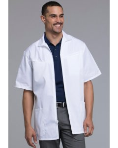Med-Man 1373: Mens Zip Front Scrub Jacket
