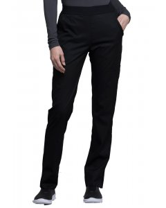 Cherokee CK040: Womens Luxe Contemporary Fit Natural-Rise Tapered Leg Scrub Pant