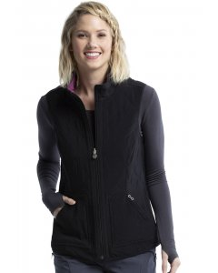 Cherokee CK530A: Womens Reversible Quilted Vest