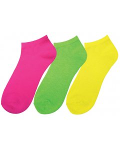 Prestige 383:  Neon Nurse Socks (three-Packs)