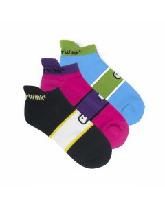 WonderWink 485: Womens Accessory 3pack No Show Socks
