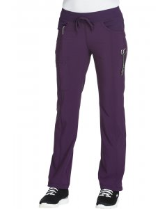 Cherokee 1123A: Womens Infinity W/ Certainty Low Rise Straight Leg Drawstring Scrub Pant