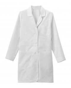 "Meta 1097: Womens 35"" Twill Trench Style Labcoat"