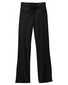 Jockey Scrubs 2410: Womens Jockey Button Trimmed Full Elastic & Drawstring Pant