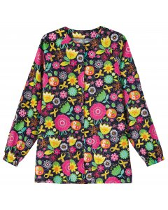 Bio Prints 5832: Womens Raglan Sleeve Warm Up Jacket