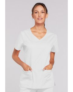 Cherokee Workwear 4727: Womens Cherokee Work Wear Stretch V-Neck Scrub Top