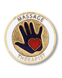 Prestige 1008:  Massage Therapist Pin