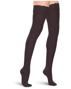 Therafirm TF684: Womens 15-20 Mmhg Thigh High Lace Top Hosiery