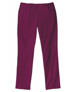 Fundamentals 14782: Womens Pintuck Tapered Straight Leg Pant