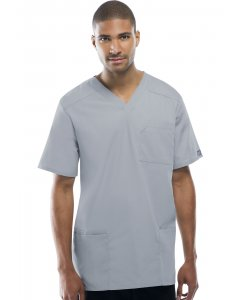 Cherokee Workwear 4701: Unisex Tall V-Neck Scrub Top