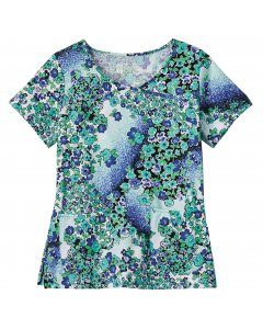 Bio Prints 5166: Womens Crossover Top