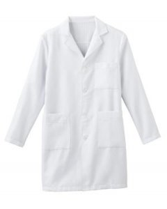 "Meta 862: Mens 38"" X-Static Labcoat"
